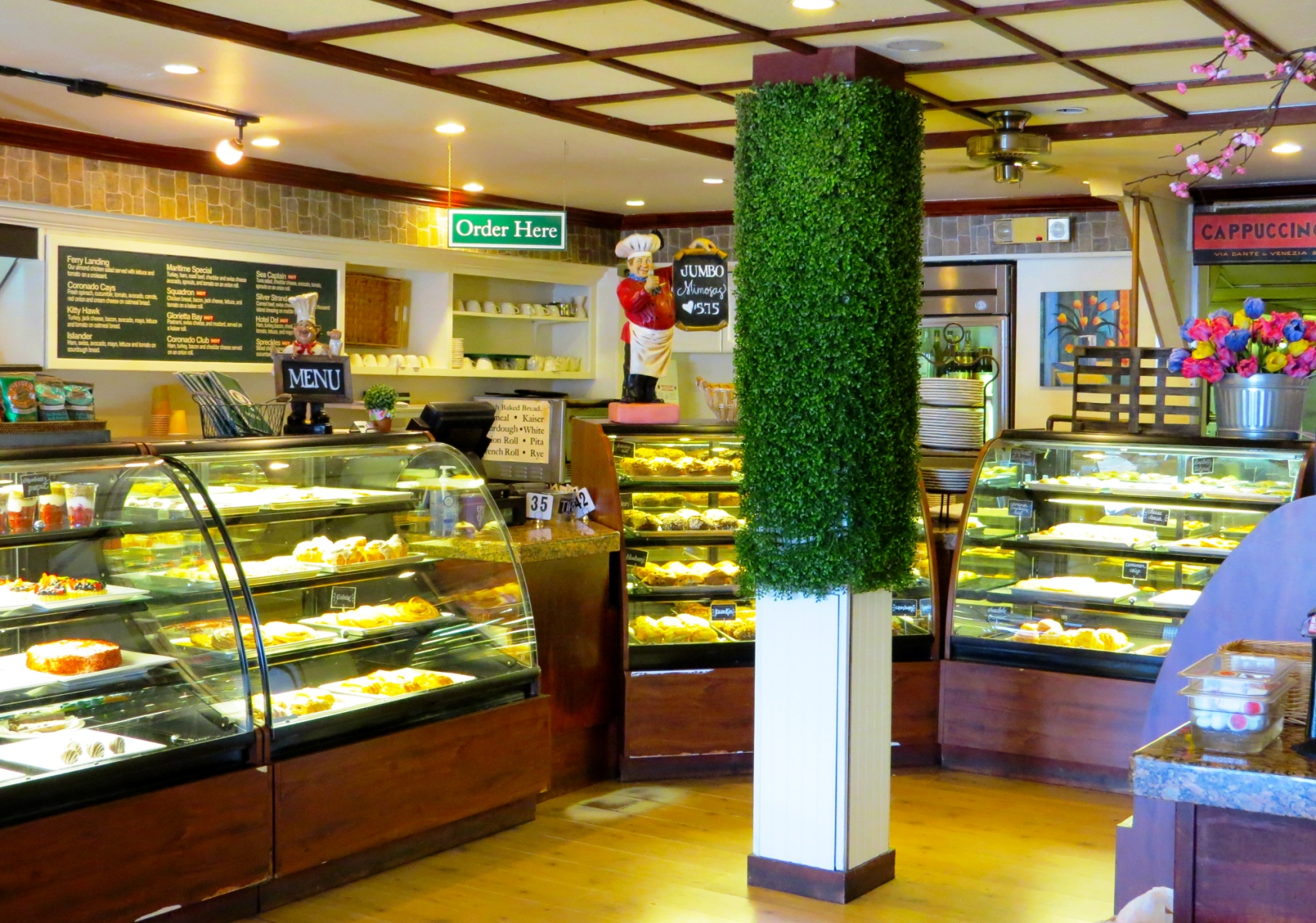 Villa Nueva Counter and Pastry Cases