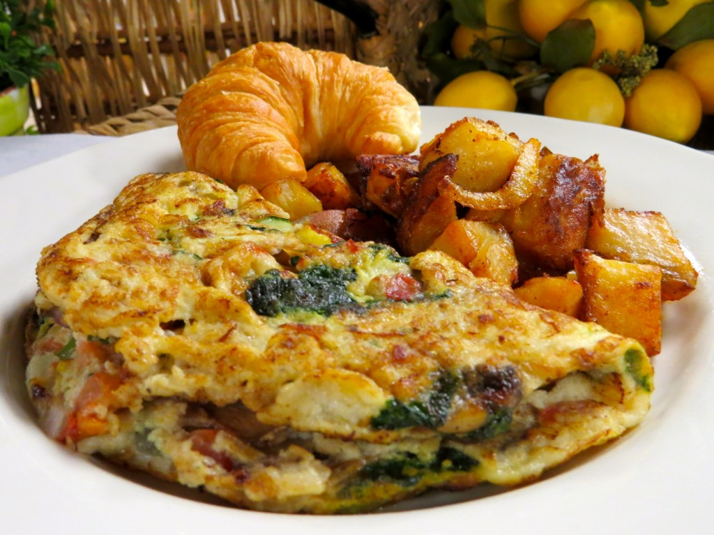Villa Nueva Vegetable Omelet